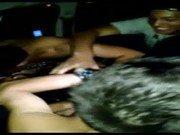 Video porno de safada na orgia com vários amigos