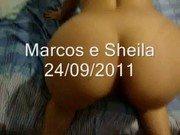 Sheila do rabão dando a vagina e cuzão de quatro