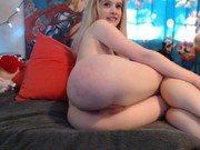 Perfeita lolita da bunda redonda na webcam nua