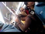 Safadas em ônibus sendo encoxadas