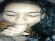 Xxx de morena Cláudia fazendo boquete e trepando