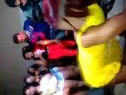 Brasileiras no funk se saciando na festinha