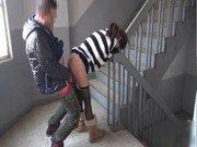 Porno com chinesa vadia dando na escada
