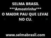Mais uma foda quente com a brasileira Selma