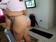 Video porno de dotado com sua amante do rabão