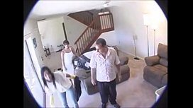 Coroa filma a transa com sua bela cunhada em casa