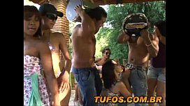 Dotados no pagode com muito sexo grupal