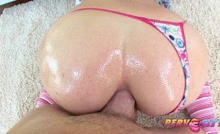 Shay loira vadia fazendo sexo anal hardcore